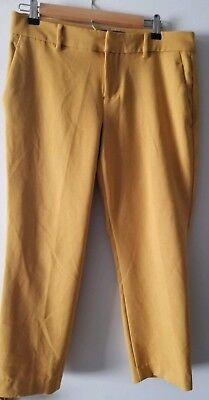 Old Navy Mid Rise Gold Dresspants