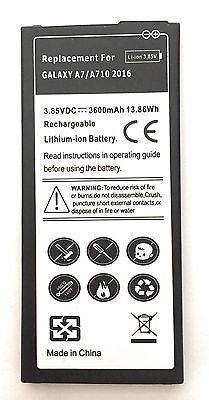 Akku Samsung Galaxy A7 (2016) SM-A710F Batterie EB-BA710ABE 3300 mAh A710 Batterie