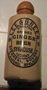 Antique ginger beer bottle SOLD PPU