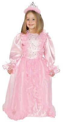 Rubies 12212 - Prinzessin Melody, rosa Princess, Kinder Kostüm, Gr. 104 - 140