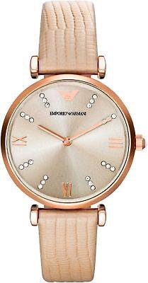 Neu Emporio Armani AR1681 Damen Luxus Uhr Designer UK - Verkäufer
