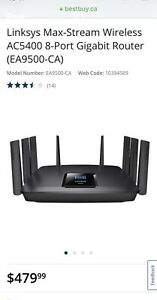 New Router Linksys EA-9500