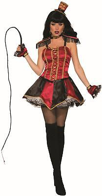 Racy Ring Mistress Master Mystery Circus Costume Standard