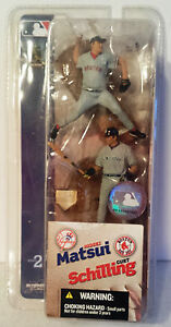 HIDEKI-MATSUI-YANKEES-CURT-SCHILLING-RED-SOX-2004-Baseball-MLB-3-034-Figures