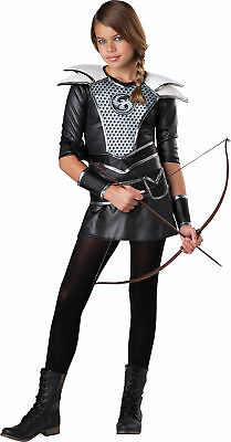 Midnight Huntress Child Costume Katniss Hunger Games Theme Party Halloween - Hunger Games Themed Games