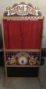 Puppet theatre with custom LED lights