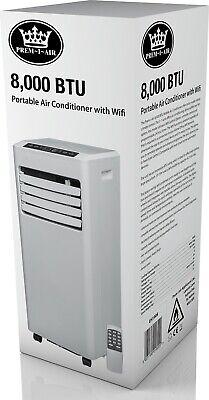Prem-I-Air 8,000 BTU Portable Local Air Conditioner With Wifi Control / Remote