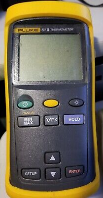 Fluke 51 Ii Digital Thermometer Lightly Used