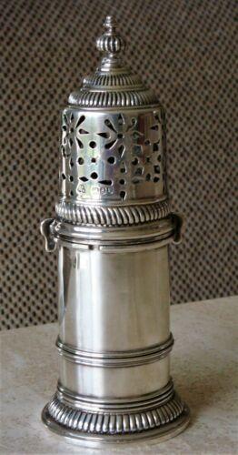 Sterling Silver Sugar Caster Muffineer Wakley & Wheeler 1896 Queen Anne Style