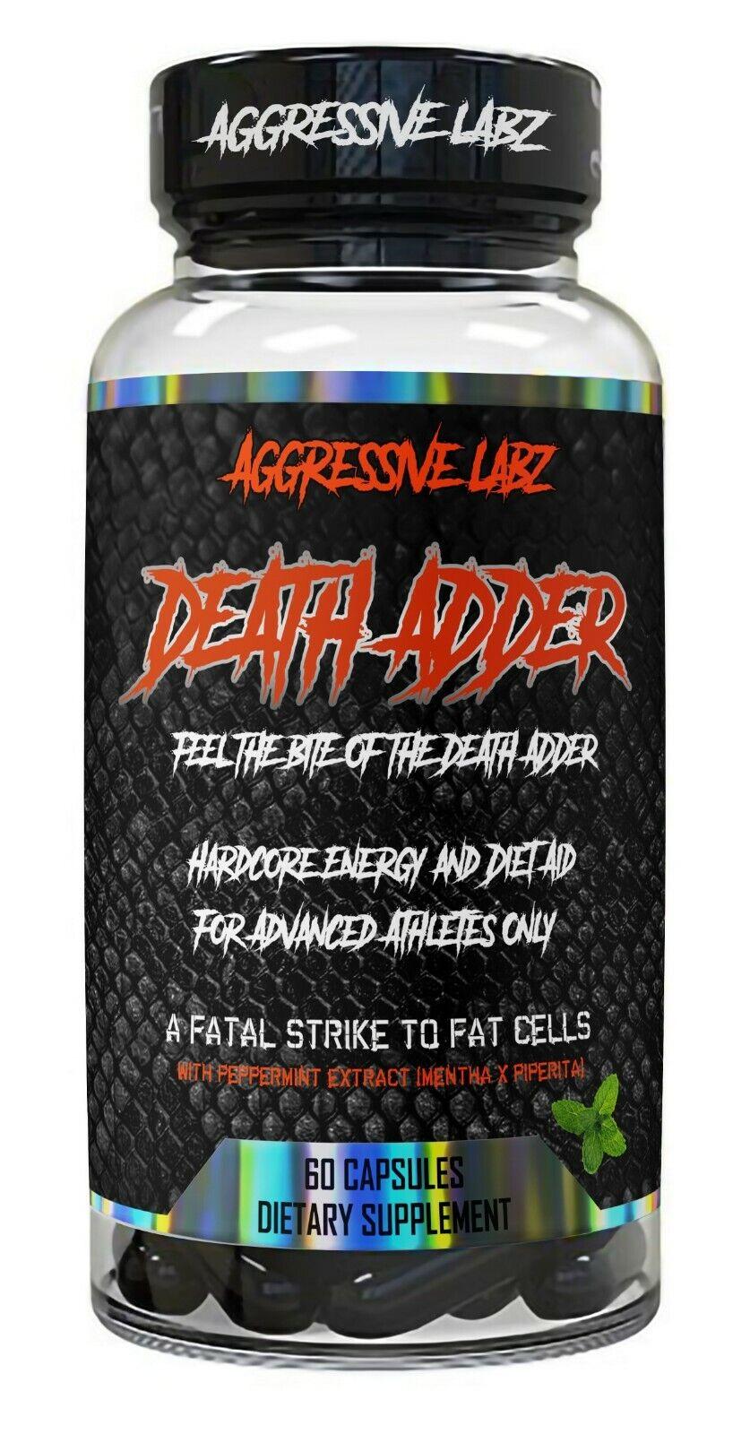 Aggressive Labz DEATH ADDER Superior Thermogenic Fat Burner