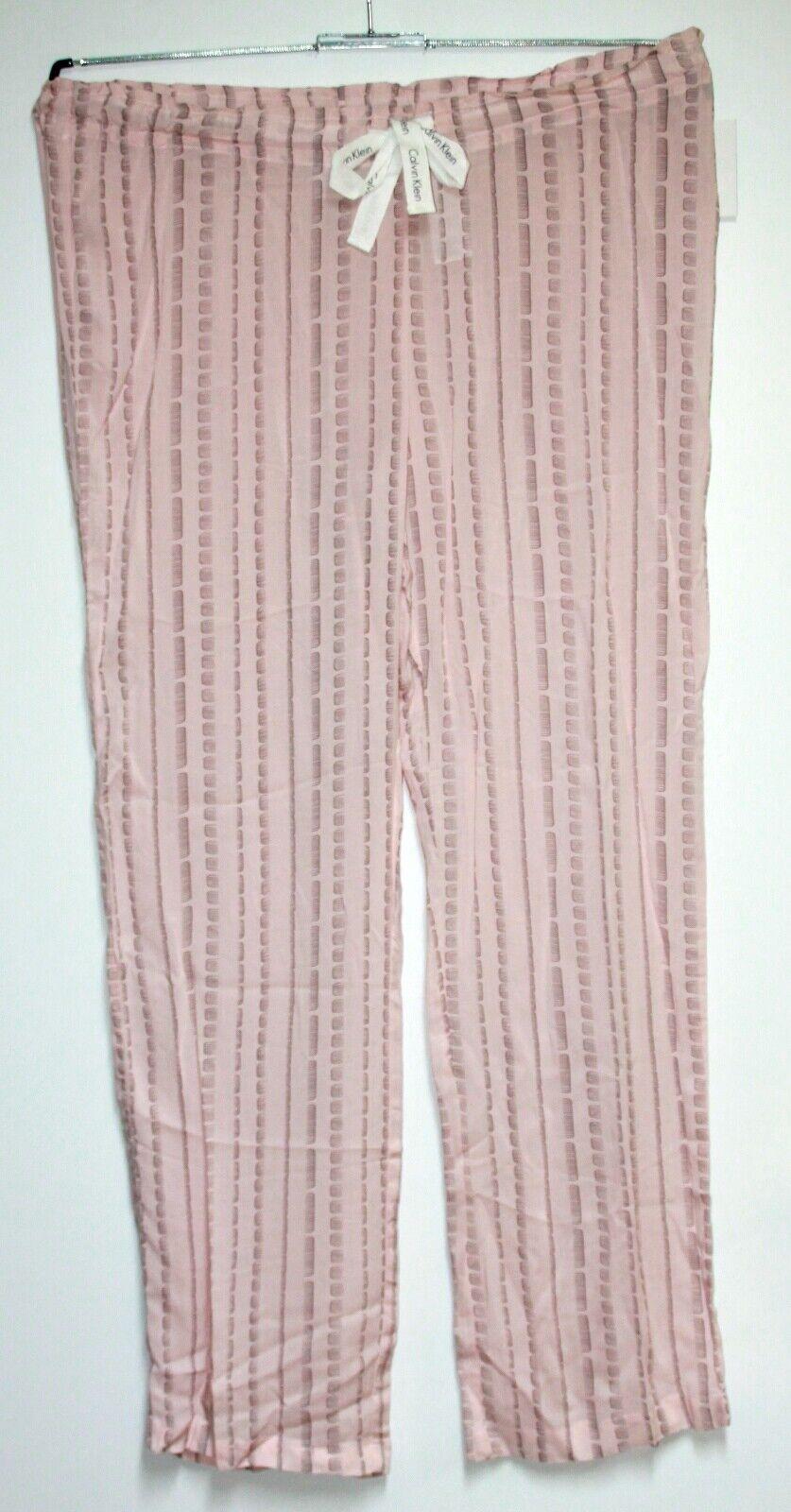 CK UNDERWEAR Damen Pyjamahose gemustert  Größe:M  Neu mit Etikett NP:42€