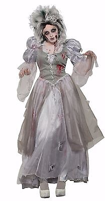 Adult Zombie Ghost Bride Never After Princess Costume ](Zombie Bride Costumes)