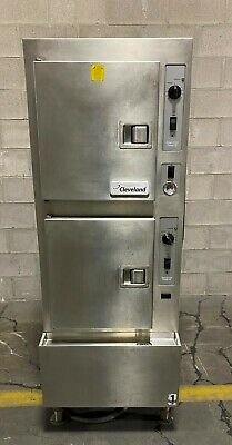 Cleveland 24cdp10 Commercial Convection Steamer 2 Compartments