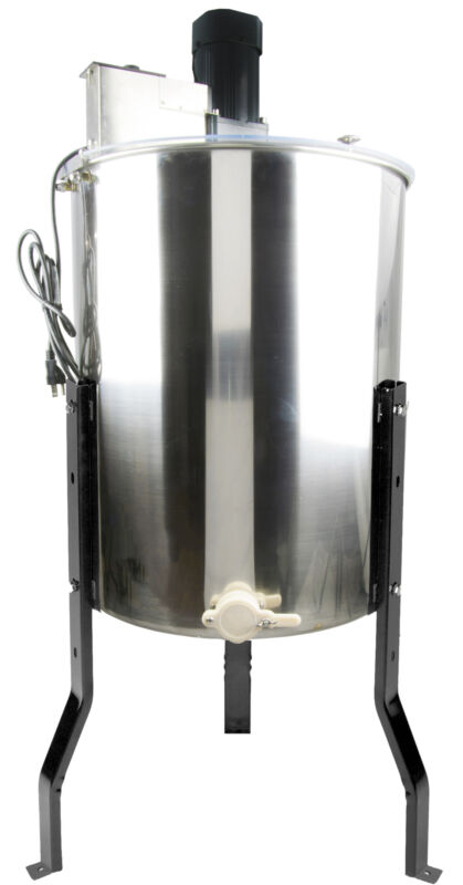 110V 4 Frame Stainless Steel Honey Extractor Machine Beekeeping Equipment Drum