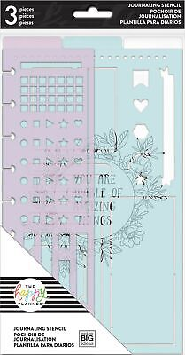 me & my BIG ideas Journal Stencils - The Happy Planner Scrapbooking Supplies ...