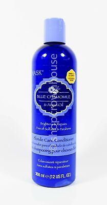 HASK Blue Chamomile & Argan Oil Blonde Care Conditioner 12 fl oz