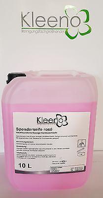 Seifencreme Rose / Kleeno Seife / für Seifenspender / 10 Liter Kanister