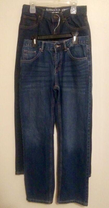 Lot of 3 Roebucks & Co Boys Jeans (Size 14)