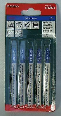 Stichsägeblätter 5 Metabo für Metall 66 / 1,1-1,5 mm Classic progressiv