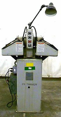 Hammond 6 Carbide Tool Grinder Model Wd-6 460 Volts 3 Phase 60 Hz 3600 Rpm