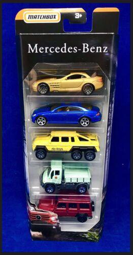 MBX Wild w// Dodge  A100 5 Pack 2019 Matchbox NEW!