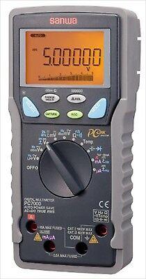 Sanwa Electric Digital Multi Meter Pc-7000 From Japan New