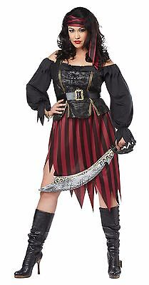 Pirate Queen of the High Seas Plus Size Costume (Plus Size Pirate Costume)