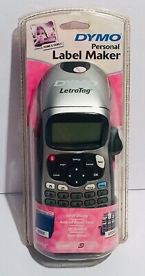 Dymo Letratag Portable Label Maker - Lt-100h New Factory Sealed