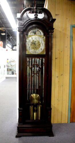 WINTERHALDER & HOFMEIER Long Case GRANDFATHER CLOCK.9 Tubes 3 Chimes.German 1925