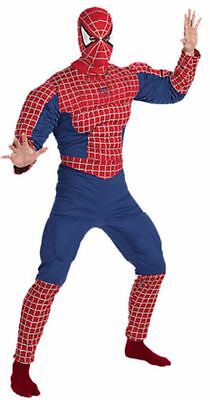 NEW DELUXE ADULT Amazing Spiderman 2 XL 42-46 Marvel Halloween Outfit Costume - Amazing Halloween Outfits