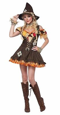 Adult Sassy Scarecrow Deluxe Costume - Adult Scarecrow Costumes