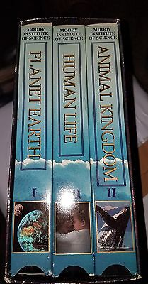 The Wonders of God's Creation 3 VHS Set - Human Life, Animals & Planet (The Wonders Of Gods Creation Planet Earth)