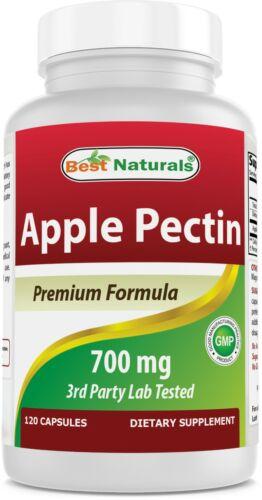 Best Naturals Apple Pectin 700 mg 120 Capsules