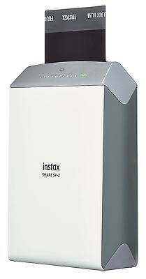 Instax Share Sp 2 Zero Ink Printer   Color   Photo Print   Portable   Silver