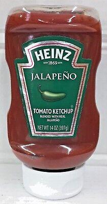 Tomato Jalapeno - Heinz Jalapeno Tomato Ketchup 14 oz