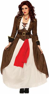 Pirate Matey (Womens Lady Matey Pirate Costume Swashbuckler Renaissance Adult Size M/L)