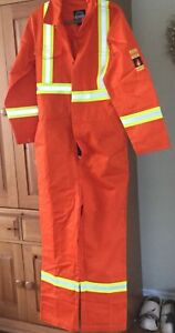 Coverall Forcefield Flame Resistant 100% Cotton (NEW) Size 42R