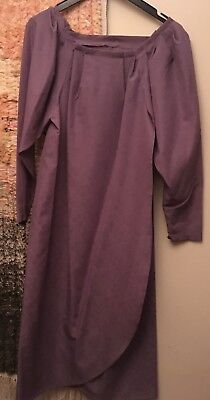 Sophisticated Lady Dresses (Subtle and sophisticated ladies' vintage dress, heather mauve, size)