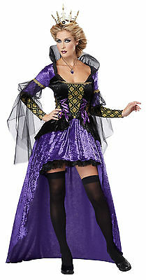 Wicked Alice In Wonderland Costumes (Adult Sexy Evil Wicked Queen Alice In Wonderland Costume)