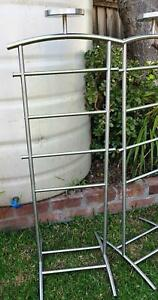 1 x Ikea Grundtal Metal Valet Stand - with a place to put the keys...