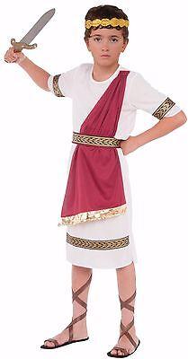 Child Roman Greek Julius Caesar Toga Costume