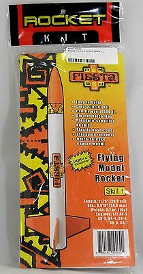 Fiesta Model Rocket Kit - Skill Level 1 - Custom Rocket Company