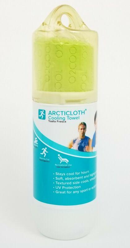 O2COOL ArctiCloth Sport Cooling Towel - Green