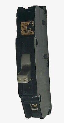 Zinsco Magnetrip Single Pole 1p 40 Amp 40a Circuit Breaker Gray Switch Type T