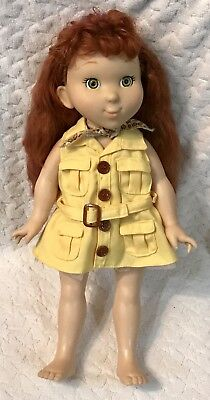 "18"" Fancy Nancy Explorer Doll by Jakks Pacific  Glamorous Hair!!  HTF!"