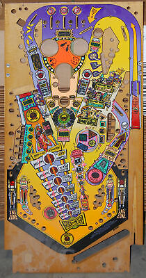Bally Party Zone - Pinball Playfield NOS