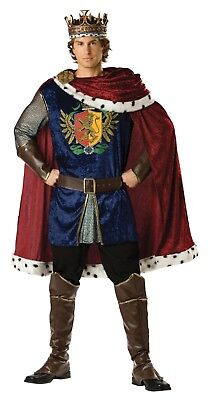 Knoble King  Medieval Renaissance Adult Mens Deluxe Costume](Medieval King Costumes Adults)