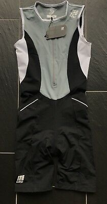 CEP Triathlon Skinsuit Women's Power Trisuit M Kompression Einteiler