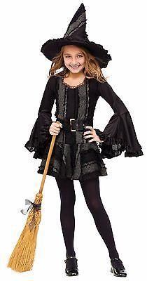 Childrens Witch Costumes (Stitch Witch Girls Child)