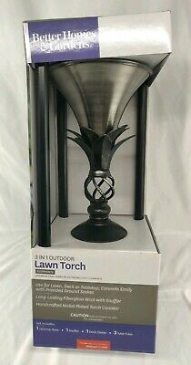 Better Homes & Gardens 3-in-1 Outdoor Lawn Torch Clermonte - BRAND